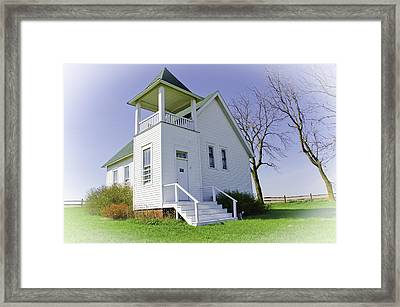 One Room School House No.3 Framed Print by Christine Belt