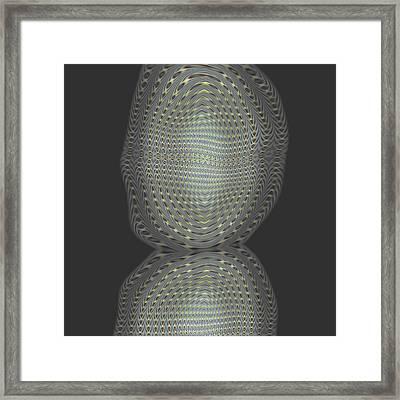 Ongrey 09 Framed Print by Li   van Saathoff