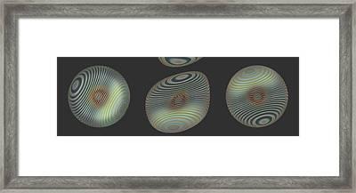 Ongrey 17 Framed Print by Li   van Saathoff