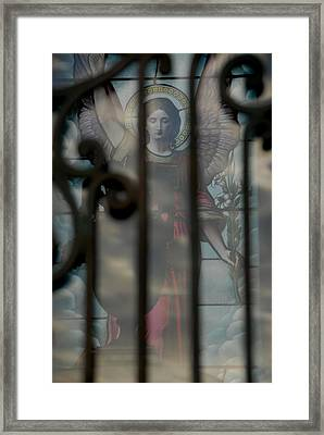 Opaque Angel Framed Print by Phil Bongiorno