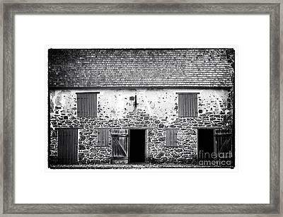 Open Doors Framed Print by John Rizzuto