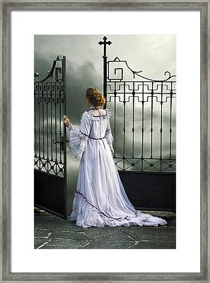 Open Gate Framed Print by Joana Kruse
