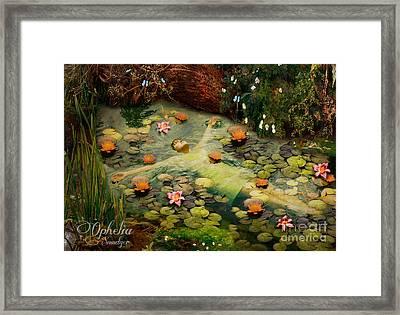 Ophelia Framed Print by Eugene James