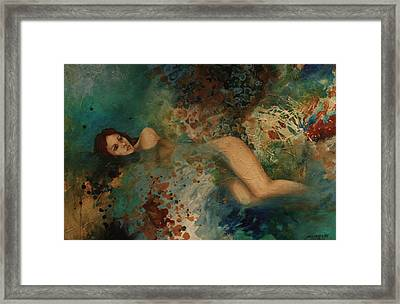Ophelia Framed Print by Gonca Yengin