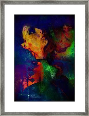 Ophelia In Neon Framed Print by Adam Kissel