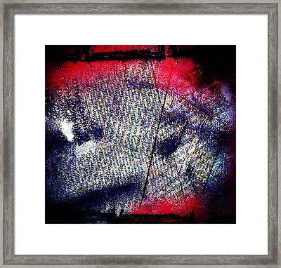 Opinion Of Stain Framed Print by Jerry Cordeiro