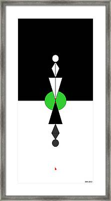 Opposites Attract Framed Print by Allen Wilson