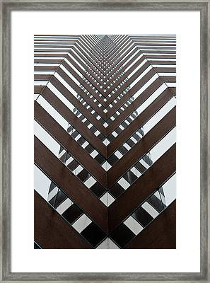 Optical Illusion Framed Print by Keith Allen