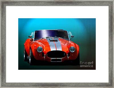 Orange Cobra Framed Print by Stuart Row