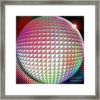 Orb It Framed Print by Cristophers Dream Artistry