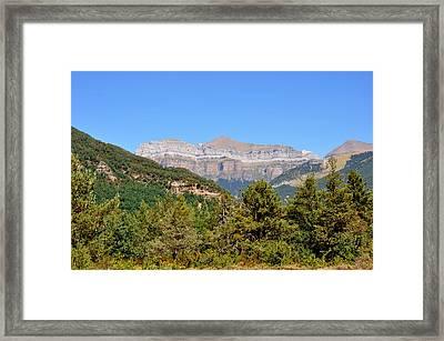 Ordena National Park Framed Print by Miguel Sotomayor