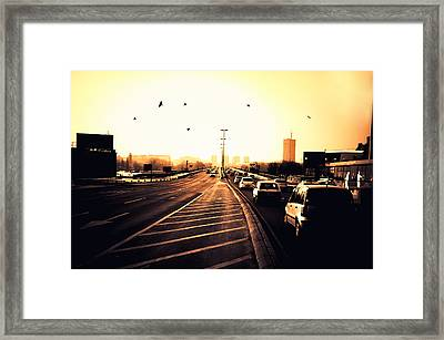 Ordinary Day Framed Print by Uros Zunic
