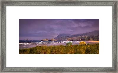 Oregon Seascape Framed Print by David Patterson