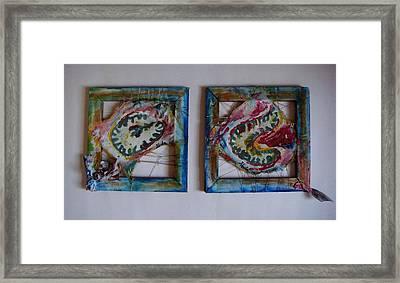 Organic Framed Print by Neda Laketic