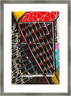 Organizational Sampling Framed Print by Al Goldfarb