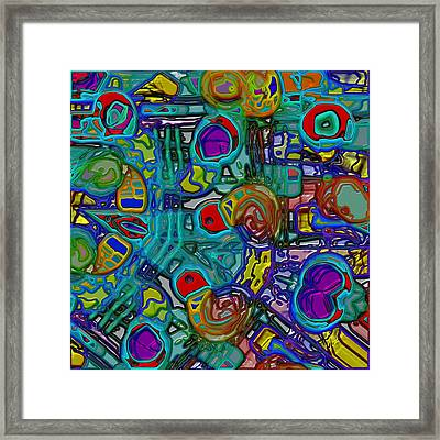 Organized Chaos Framed Print by Alec Drake