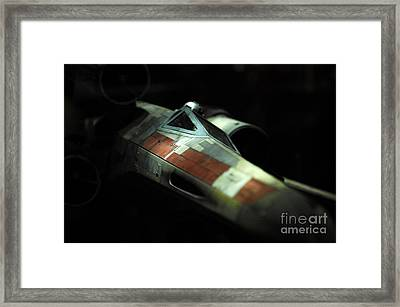 Original X-wing Framed Print by Micah May