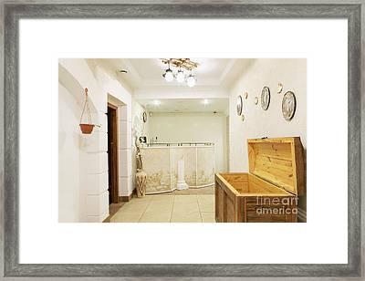 Ornate Corridor Framed Print by Magomed Magomedagaev