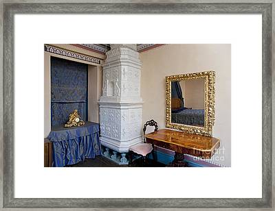 Ornate Room In A Manor Framed Print by Jaak Nilson
