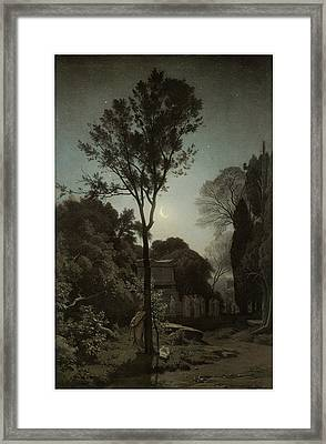 Orpheus Framed Print by Francois-Louis Francais