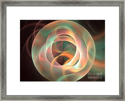 Orthosie Framed Print by Kim Sy Ok