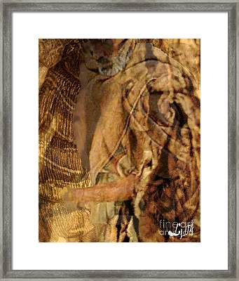 Osain Framed Print by Liz Loz