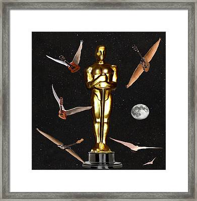 Oscars Night Out Framed Print by Eric Kempson