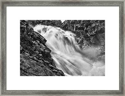 Osterbro Falls Framed Print by A A