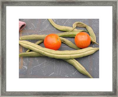 Our Garden Framed Print by School of  Creative Arts