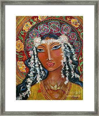 Our Lady Of Lost Causes Framed Print by Maya Telford
