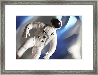 Out In Space Framed Print by Greg Kopriva