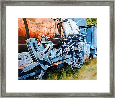 Out Of Gear Framed Print by Chris Steinken