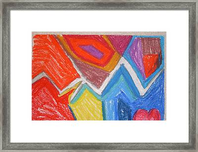 Out Of Place Framed Print by Genoa Chanel