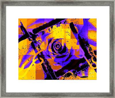 Out Of The Box Expression Framed Print by Fania Simon