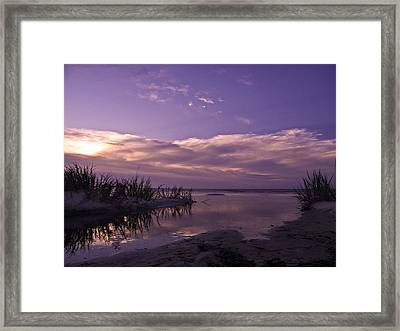Out To Sea Framed Print by Brian Wright