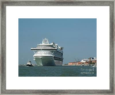 Out To Sea Framed Print by Evgeny Pisarev