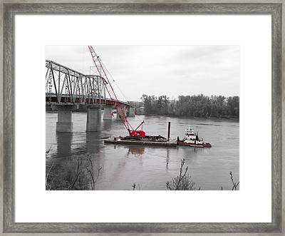 Out With The Old In With The New Framed Print by Patricia Erwin