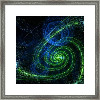 Outer Space Framed Print by Stefan Kuhn