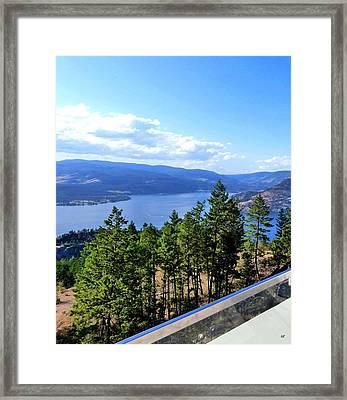 Vista 17 Framed Print by Will Borden