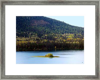 Outlook 18 Framed Print by Will Borden