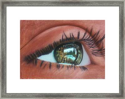 Outside Looking In Framed Print by D Rogale