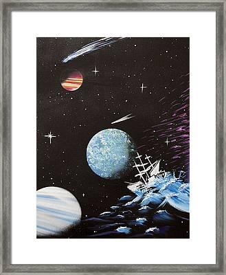 Outter Limits Framed Print by Stephen Ford