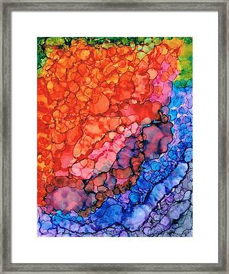 Over The Rainbow Framed Print by Christine Crawford