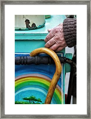 Over The Rainbow Framed Print by Odd Jeppesen
