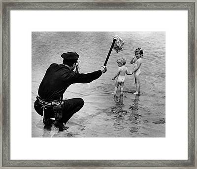 Overexposure Framed Print by Ed Clarity