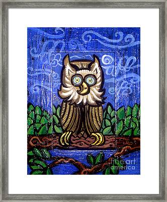 Owl Magic Framed Print by Genevieve Esson