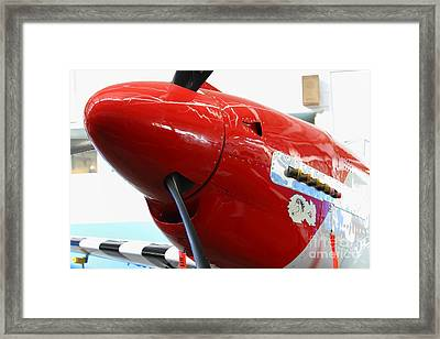 P-51b Mustang Replica Fighter Plane . 7d11160 Framed Print by Wingsdomain Art and Photography