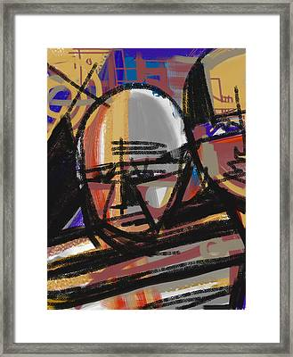 Pablo Framed Print by Russell Pierce