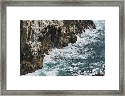 Pacific Coast Highway Seascape Framed Print by Gregory Scott