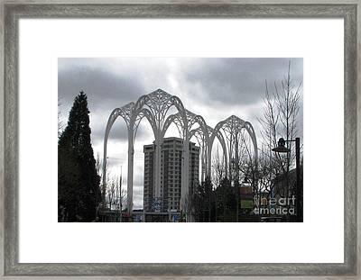 Pacific Science Center Arches Framed Print by Judyann Matthews